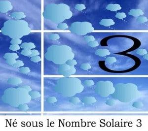 Né sous le Nombre Solaire 3