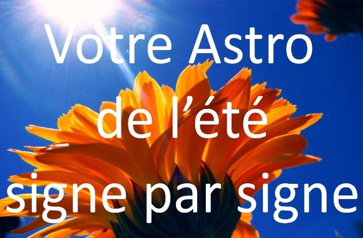 Horoscope de l'été 2011