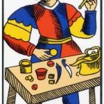 1 ) Le Bateleur, Comprendre le tarot de Marseille