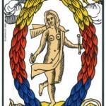 21 ) Le Monde, Comprendre le tarot de Marseille