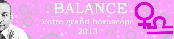 BALANCE VOTRE ASTRO 2013