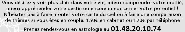 Consultations d'astro