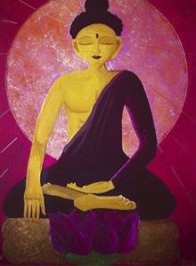 Bouddha en méditation | 400€ | Vendu