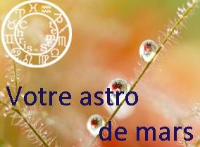 Votre horoscope du mois de mars 2015