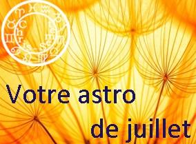 Astro du mois de juillet 2015