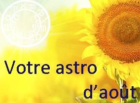 Astro du mois d'août 2015