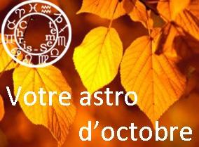 Astro du mois d'octobre