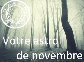 Votre astro de novembre 2015