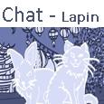 Icone menu Chat - Lapin