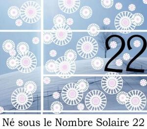 Né sous le Nombre Solaire 22