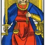 8 ) La Justice, Comprendre le tarot de Marseille