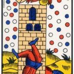 16 ) La Maison Dieu, Comprendre le tarot de Marseille