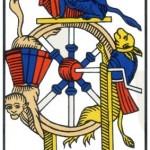 10 ) La Roue de Fortune, Comprendre le tarot de Marseille