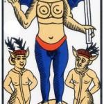 15 ) Le Diable, Comprendre le tarot de Marseille