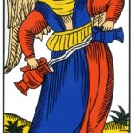 14 ) La Tempérance, Comprendre le tarot de marseille