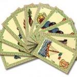 L'Oracle de Belline, les quatre premières cartes