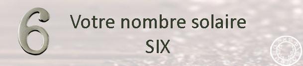 Nombre solaire 6