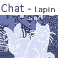 Icone menu Chat - Lapin