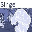 Icone menu Singe